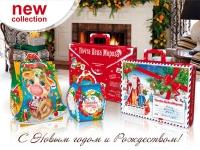 Новогодняя упаковка ОАО «Витебский картонажно-полиграфический комбинат»