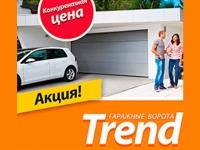 Новые цены на секционные гаражные ворота серии Trend